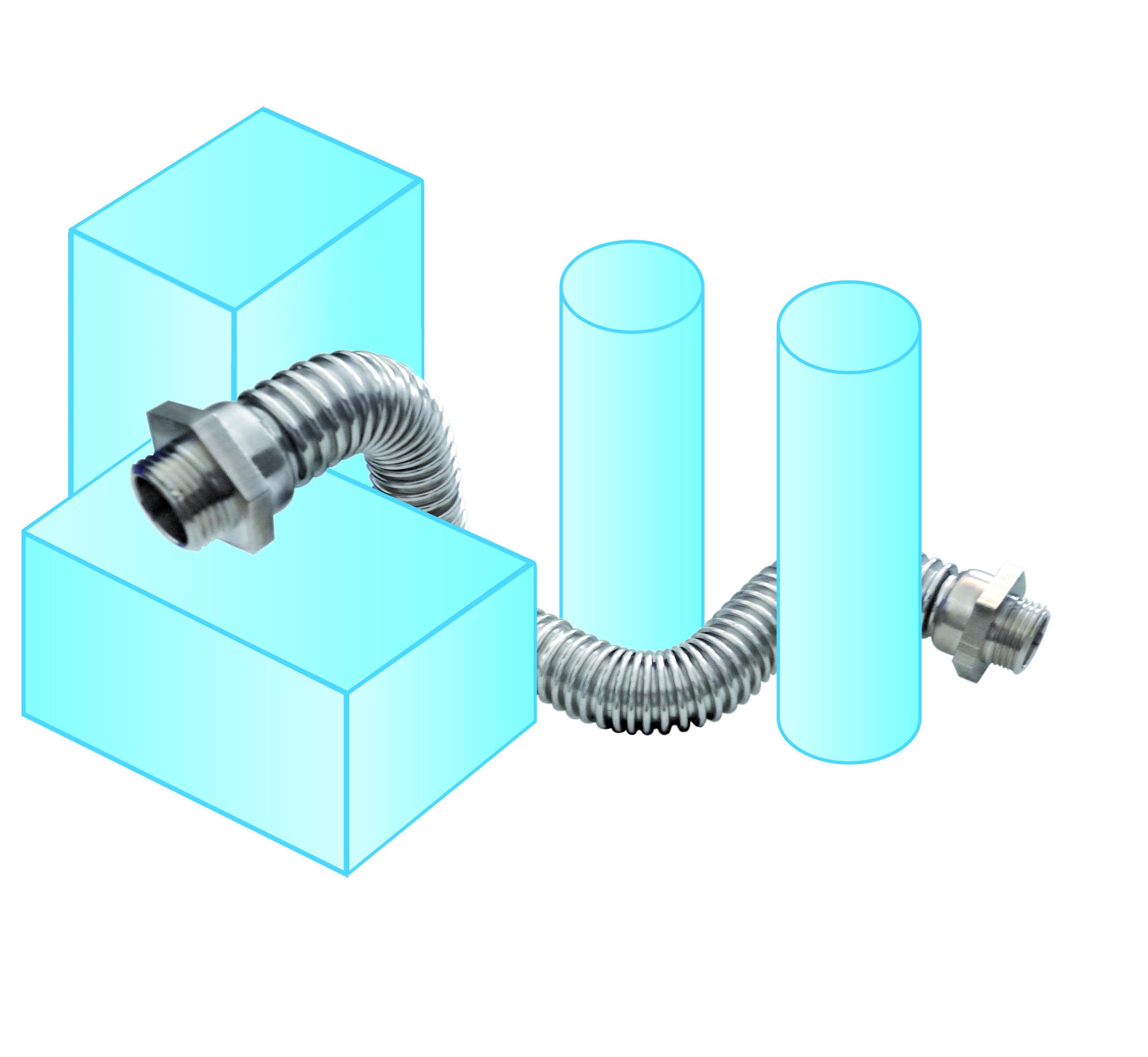 Nueva gama de Curvas flexibles met�licas de Napole�n Armengol S.L.
