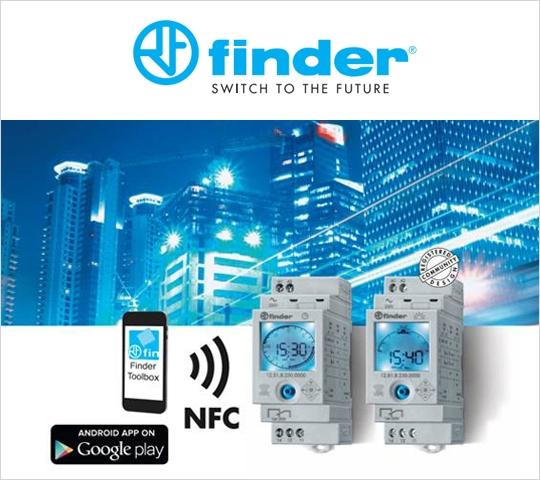 ¿Todavía no conoces la App gratuita de Finder para Interruptores Horarios?