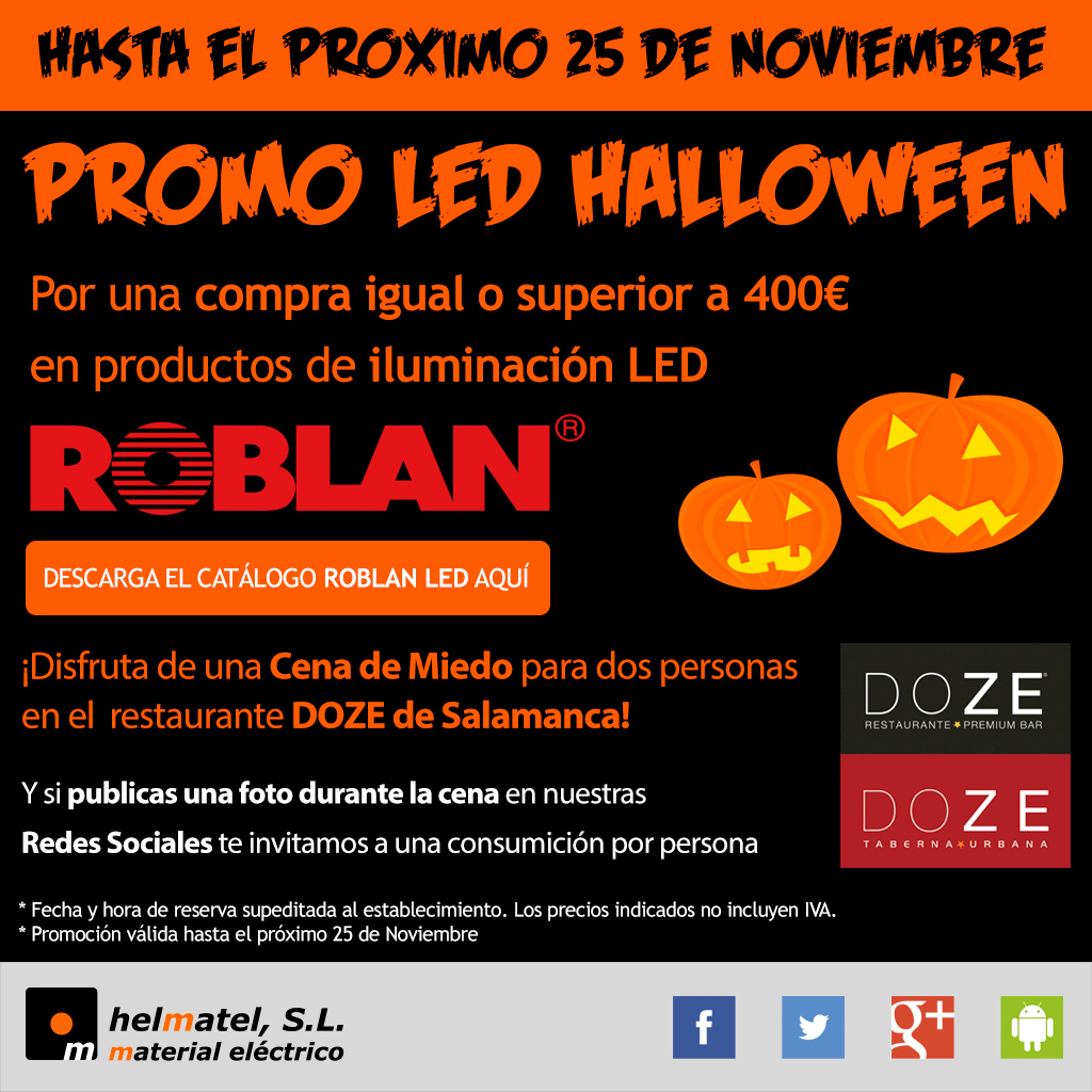 Promo LED Halloween 2016