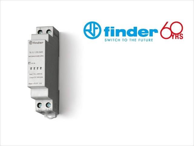 Serie 78: gama de fuentes de alimentación conmutadas de Finder