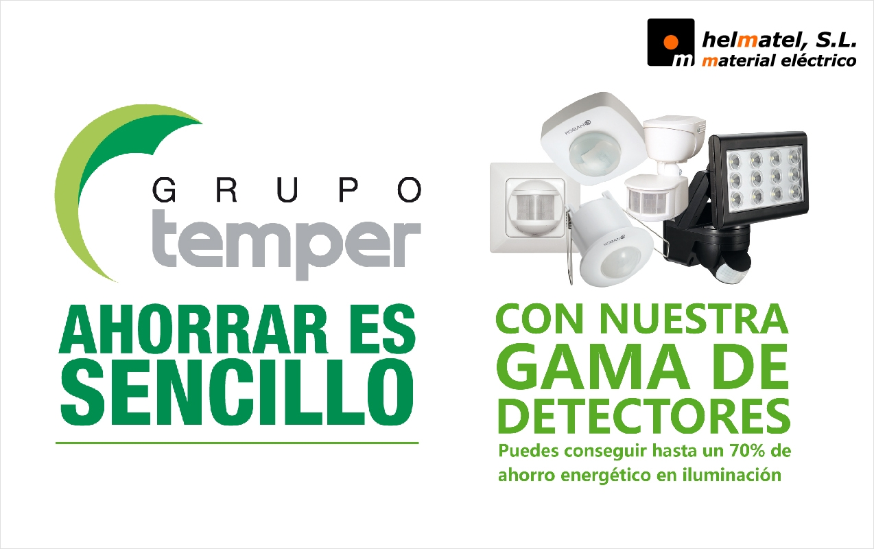 Con las nuevas ofertas en detectores Temper, ahorrar es sencillo