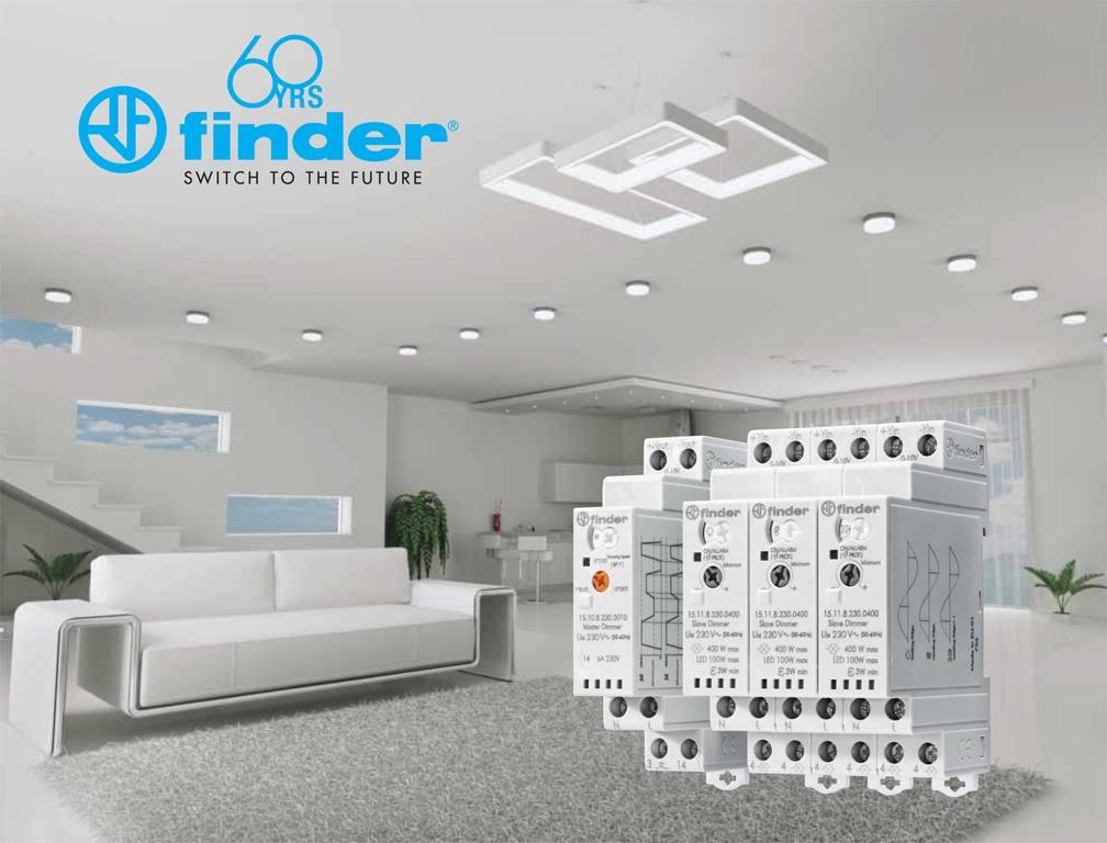 Nuevos Dimmers - Maestro y Esclavo y Reles ATEX de Finder