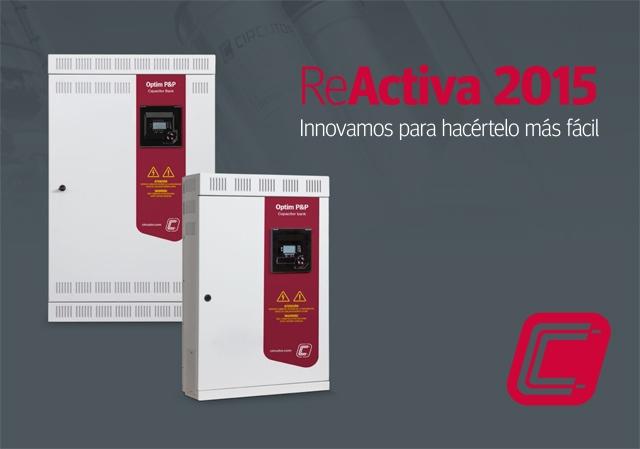 ReActiva 2015: Catálogo de Baterías esenciales de energía reactiva CIRCUTOR