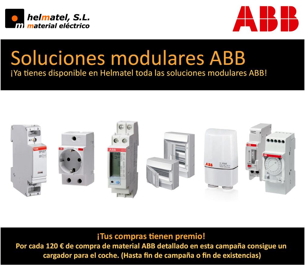 ¡Ya tienes disponible en Helmatel toda las soluciones modulares ABB!